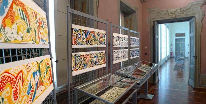 esposizione di incisioni ▹ exposition de linogravures ▹ exhibition of linoleum cuts ▹ Torino ▹ Italia