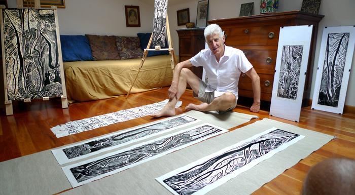 woodprints like carpets…