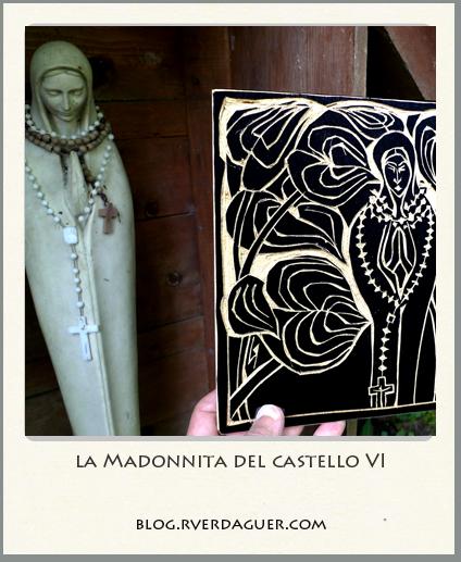 madonnita del castello ➢ incision