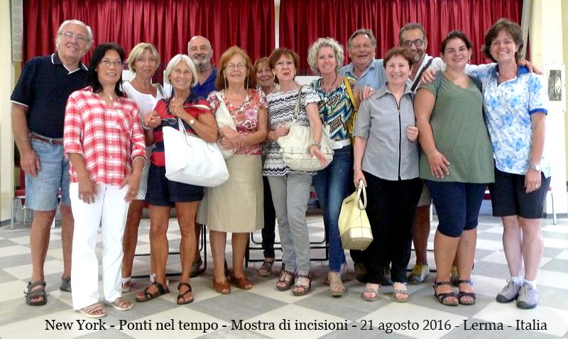 Mostra di incisioni – Lerma Italia 2016