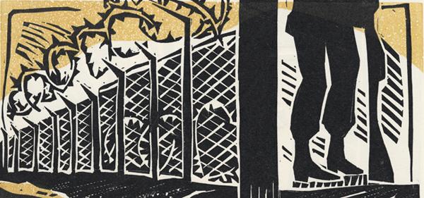 Los caminos de la inmigracion – commissioned linocuts 2005-06